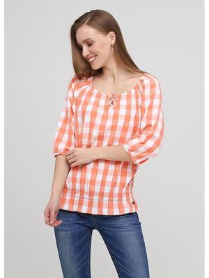 Блуза клетчатая   5572110