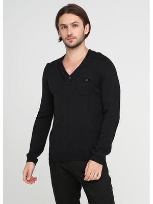 Пуловер черный | 5572266