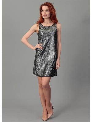 Сукня чорна декорована   5572956