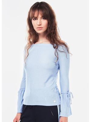 Блуза голубого цвета   5572982