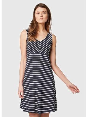 Сукня синя в смужку   5573013