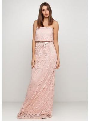 Платье пудрового цвета | 5587246