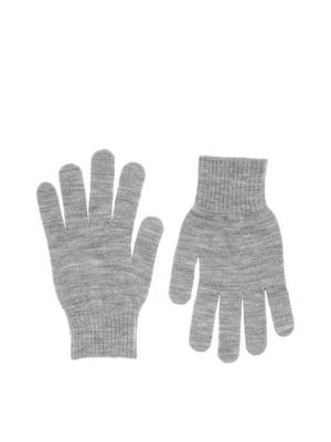 Перчатки серые | 5587290