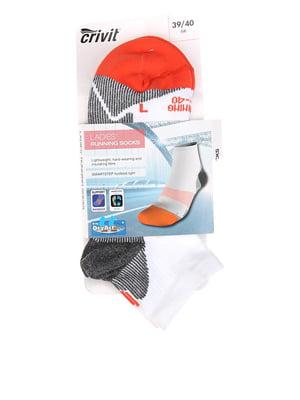 Шкарпетки триколірні в смужку | 5592511