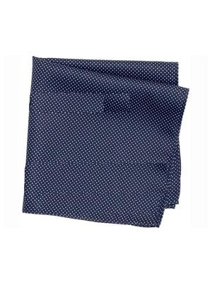 Платок темно-синий | 5592671