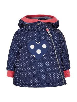 Куртка синя в горох | 5593062