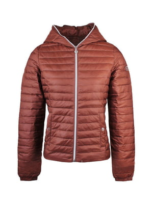 Куртка коричневого кольору | 5593196