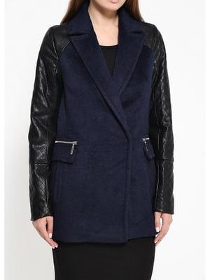 Пальто синее   5593202