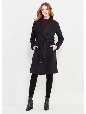 Пальто чорне | 5593225