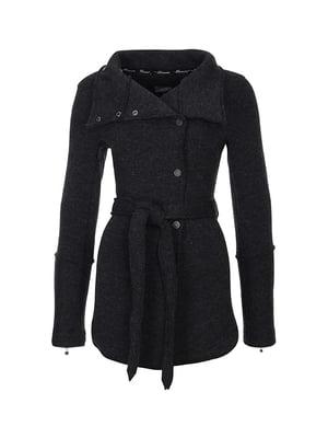 Пальто темно-серое | 5593254