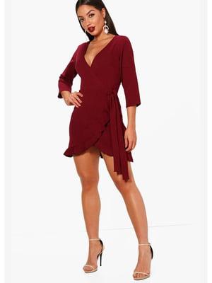 Сукня бордова | 5593276