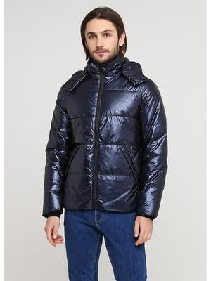 Куртка синяя   5597402