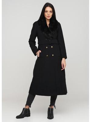Пальто черное   5597415