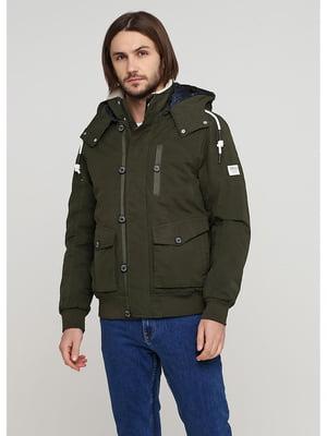 Куртка цвета хаки | 5597446