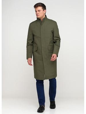 Пальто цвета хаки | 5597452