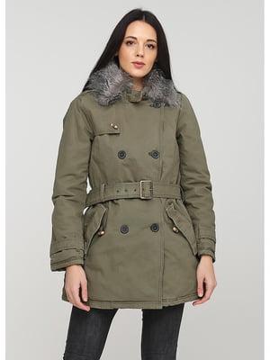 Куртка зеленая | 5597483