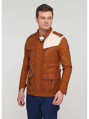 Куртка коричневая   5597484