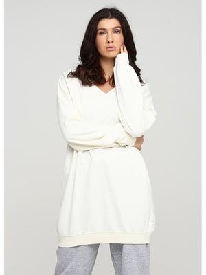 Сукня-світшот бежева | 5597599