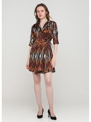 Сукня анімалістичного забарвлення | 5597729