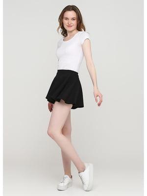 Юбка-шорты черная | 5597760