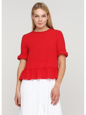 Блуза красного цвета | 5597910