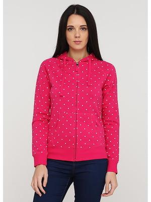 Толстовка рожева в горох | 5598050
