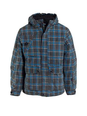 Куртка лыжная клетчатая | 5598128