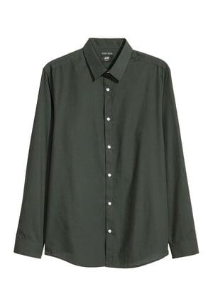 Рубашка темно-зеленая   5598332