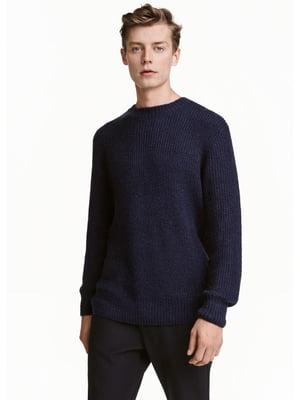 Джемпер темно-синий | 5598358