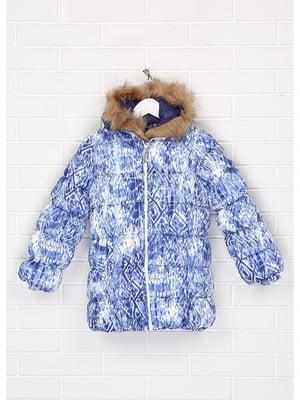 Куртка синьо-біла | 5636772