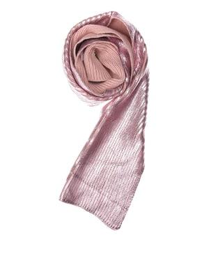 Шарф розовый | 5637495