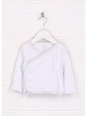 Сорочечка біла в смужку | 5637616