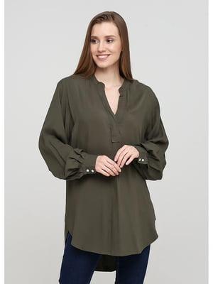 Рубашка цвета хаки | 5637802