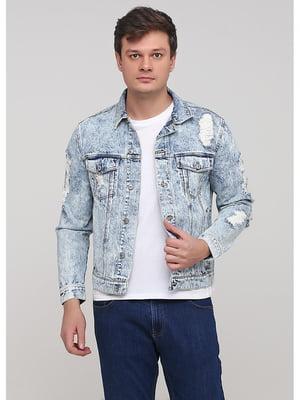 Куртка голубая | 5638096