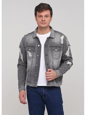 Куртка серая | 5638101