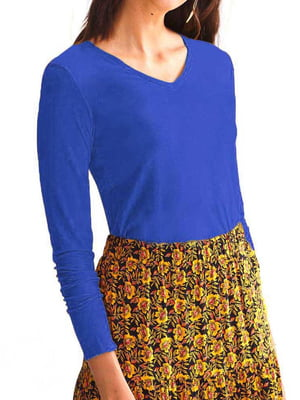 Пуловер синий | 5638450