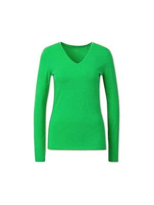 Пуловер салатового кольору | 5638452