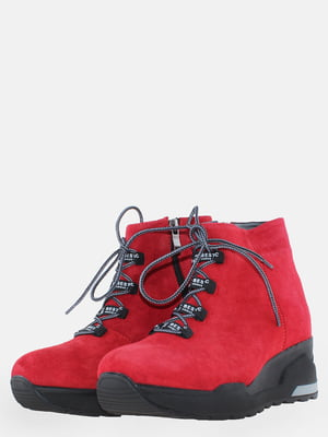 Ботинки красные | 5633247