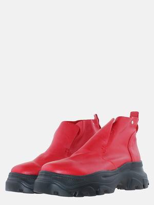 Ботинки красные | 5639291