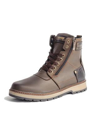 Ботинки коричневые | 5608672