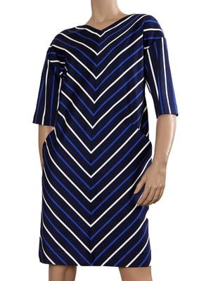 Сукня синя в смужку | 5641103
