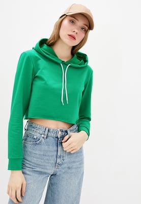 Худі-топ зелена | 5641120