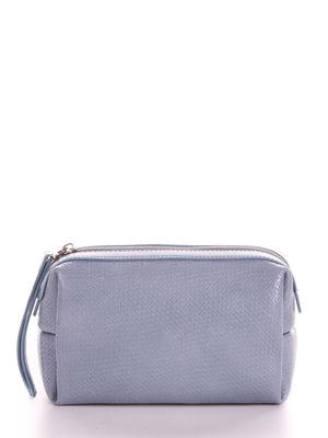 Косметичка серо-голубого цвета | 5641217