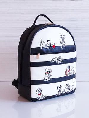 Рюкзак двухцветный с рисунком | 5641290