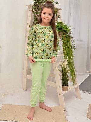 Пижама: свитшот и брюки | 5641860
