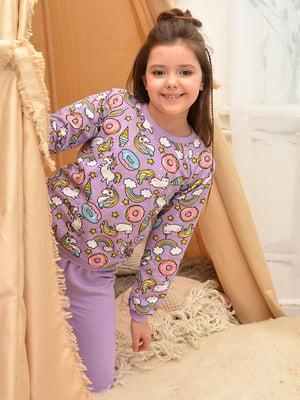 Пижама: свитшот и брюки | 5641861