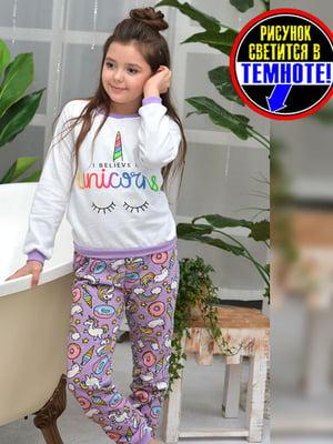 Пижама: свитшот и брюки | 5641863