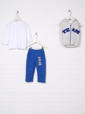 Костюм: жилет, лонгслив и брюки   3702220