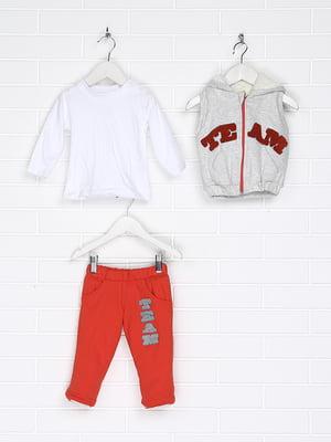 Костюм: жилет, лонгслів і штани | 5174862