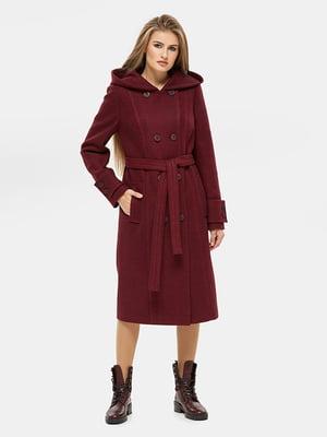 Пальто бордове | 5645381